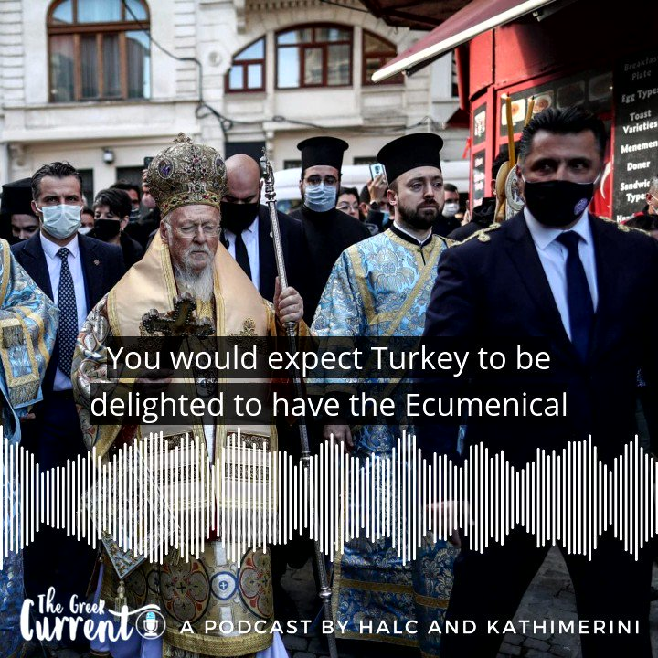 .@aykan_erdemir and @JohnLechner1 discuss #Russia and #Turkey's campaign of disinformation against the @EcuPatriarch, the threat it poses to the Ecumenical Patriarchate's survival, and what steps the West should take to counter Putin and Erdogan. Tune in: