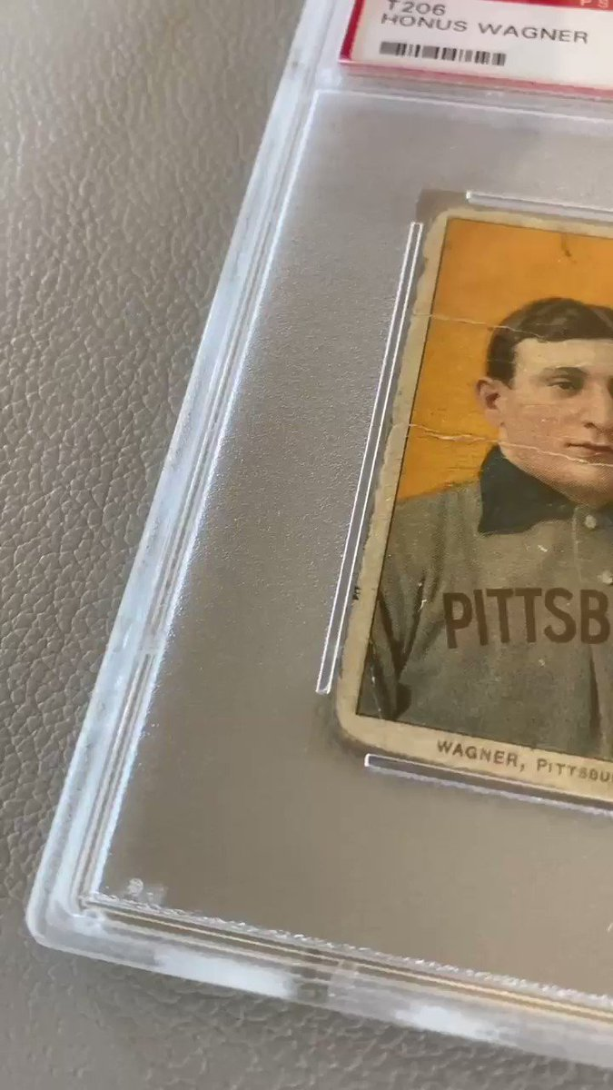 Replying to @KenGoldin: Why the Honus Wagner T206 is the industry's Holy Grail... 🎥