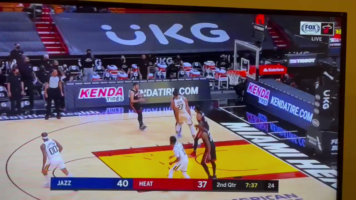 Literally the worst call I have ever seen in an NBA game. And I can't believe Spo didn't challenge. They called a foul on Bam on this. https://t.co/zV7zgEUXwl