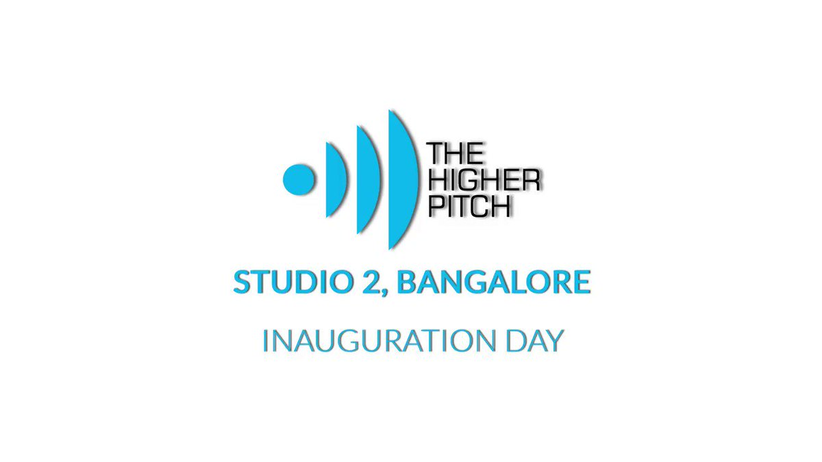 We recently inaugurated our newest work-hub. The Higher Pitch, Studio 2, Bangalore,   Here's a short capture of the day's moments: with industry leaders, customers, and associates around the globe.   #office #inauguration #business #transformation #Bangalore #PlayTheHigherPitch