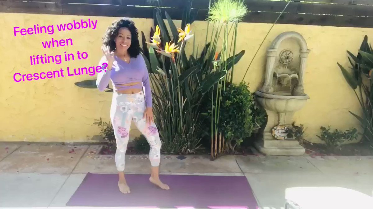 Wobbles are ABSOLUTELY a part of a yoga experience. If you're working on stability, check my latest video for tips.   #SaturdayMorning #stability