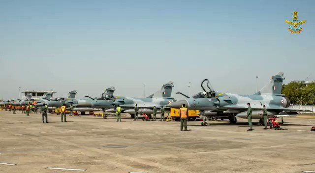 On the 2nd anniversary of the Indian Air Force's (IAF's) strike on Balakot — a Jaish terrorist camp in Pakistan — IAF chief, Air Marshal Raj Bhadauria visited the squadron that carried out the strike and flew a long range strike sortie that was very similar to the Balakot strike.
