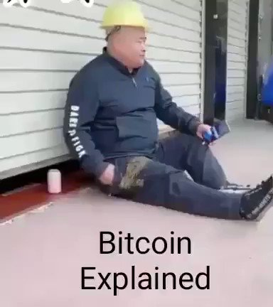Bitcoin in 1 min! If u r as rich as elon it's less than 1% of wealth but if u r this guy! Be aware ... good luck and safe journey to the moon #btc #bitcoins #Coinbase #cryptocurrency