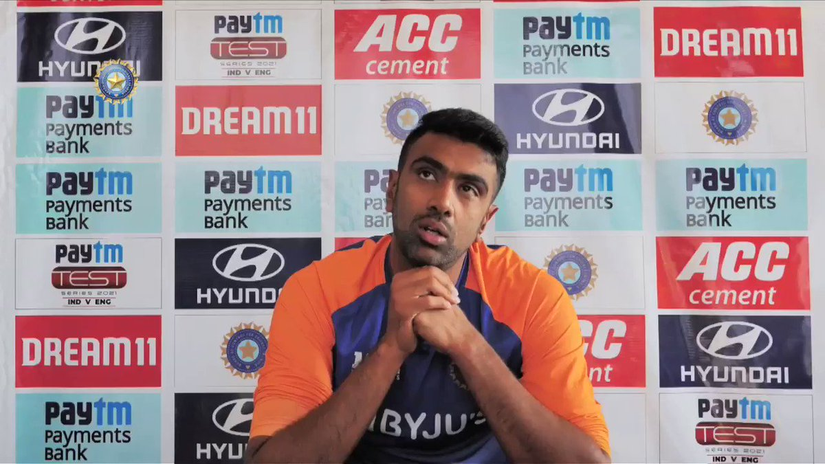 "🗣️ 🗣️ ""We have never complained about the pitch in the past.""  #TeamIndia's ace spinner @ashwinravi99 sets the record straight.  @Paytm #INDvENG"