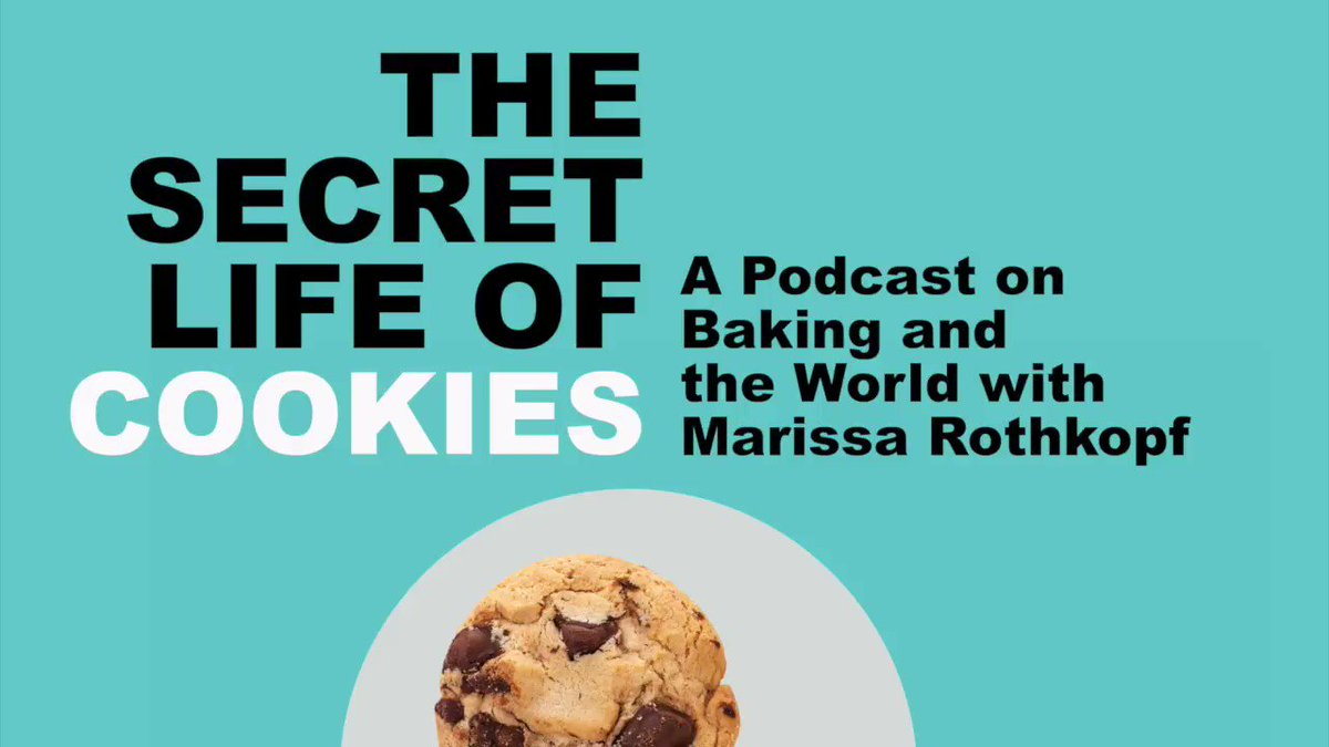 """It's the weekend and that means a new episode of """"The Secret Life of Cookies"""" w/ food critic & journalist, @MarissaRothkopf. This week she's joined by @Laurie_Garrett to discuss where we are with the pandemic. Marissa makes black bean dip while they talk."""