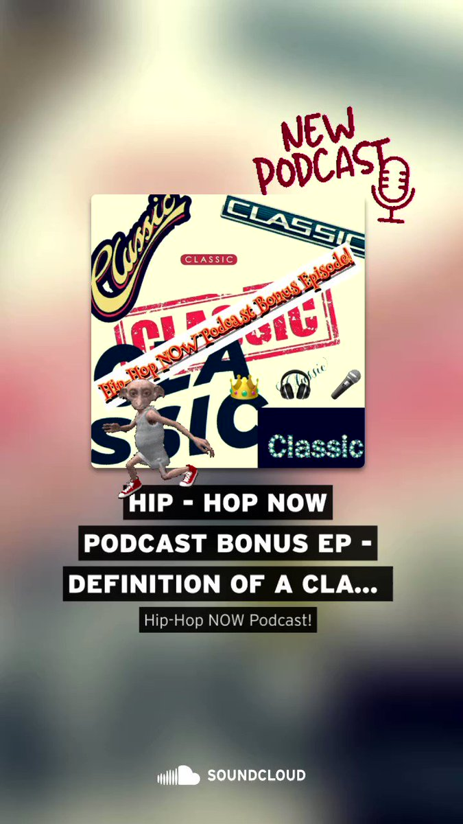 "🚨Listen to the latest episode of Hip-Hop NOW PODCAST today! ""The Definition of a Classic"". Available wherever you listen to Podcast.  #HipHop #podcast 🎧 #SaturdayVibes"