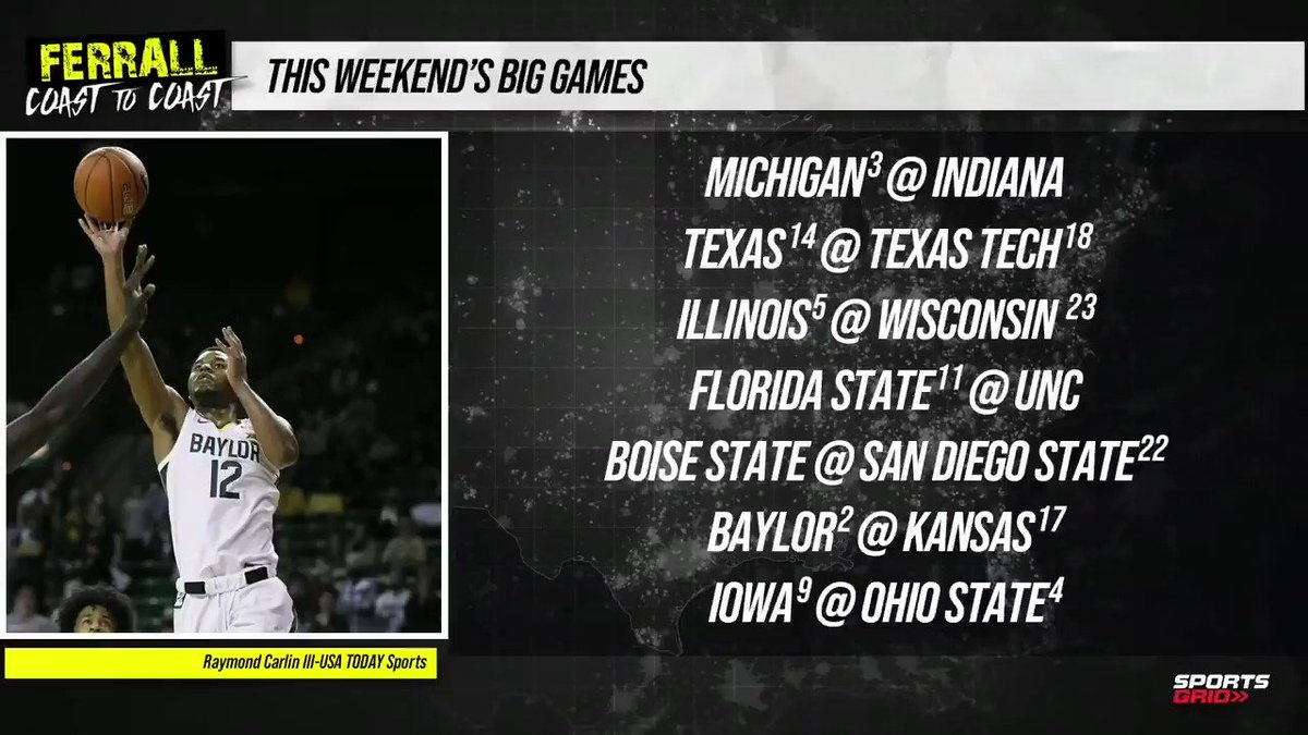 On yesterday's show @ScottFerrall talked about who he thinks will win the top college hoops games this weekend  Get ALL his picks for CBB, NHL, NBA and the UFC at https://t.co/5xKl6ZlP8G!! https://t.co/ACHUrkKVfp