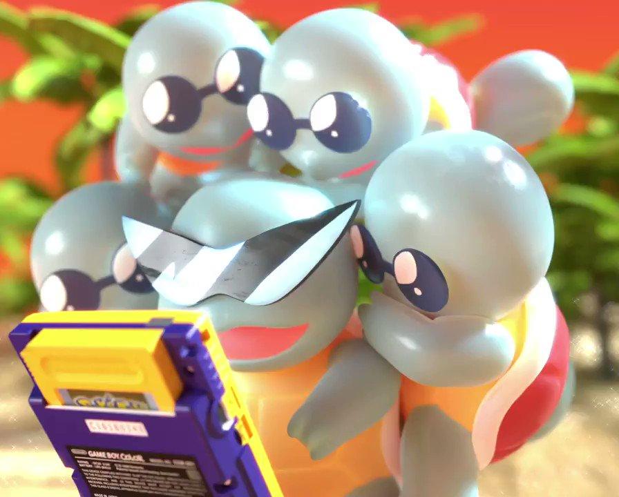 The squaaad #PokemonDay #Pokemon25