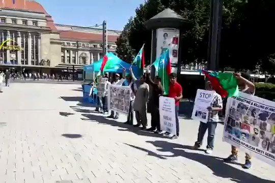 Recieved this video via WhatsApp. Baloch activists raising the flag of Balochistan and India chanting slogans of Go Ahead Modi, Kadam Badao Modi Ji, Hum Tumare Sath Hai....
