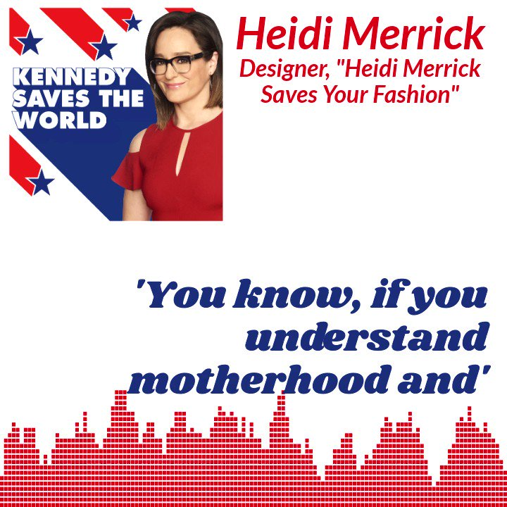 A NEW #KSTW #podcast with @KennedyNation is out NOW. This weeks episode is Heidi Merrick Saves Your Fashion, with @HeidiMerrick. Hear their full conversation at the link below, or on @ApplePodcasts. radio.foxnews.com/2021/02/26/hei…
