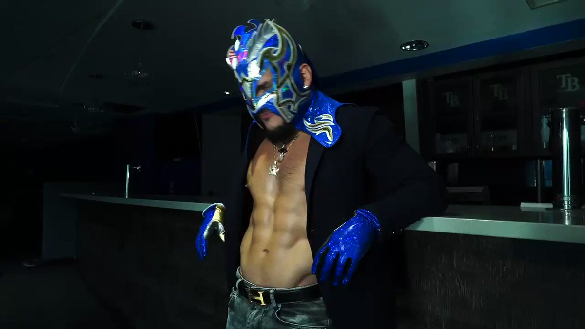Replying to @KalistoWWE: You ask me why? You want to know why?  You want the answer? You'll have to wait.  @WWE