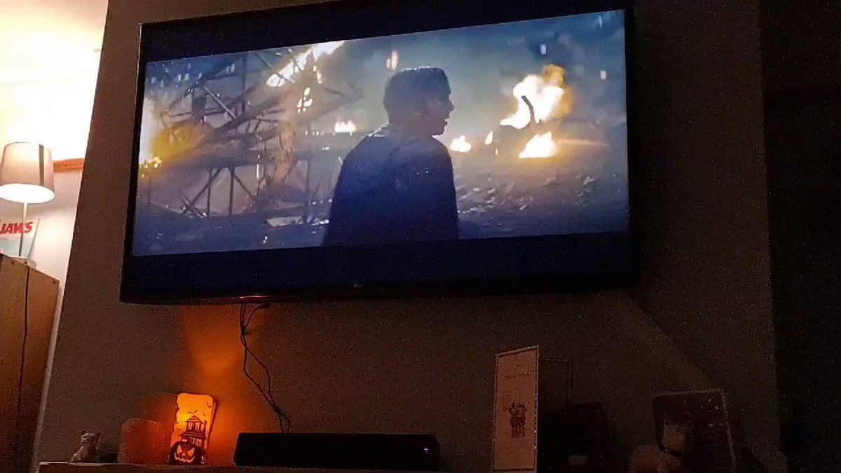 Brought a new Soundbar and I shit you not, our living room just vibrated with the #Godzilla roar & @bearmccreary 's stunning #soundtrack - soooo ready for #GodzillaVsKong now even more! #4k #4KUltraHD #music #sound #soundbar  #kaiju @Legendary