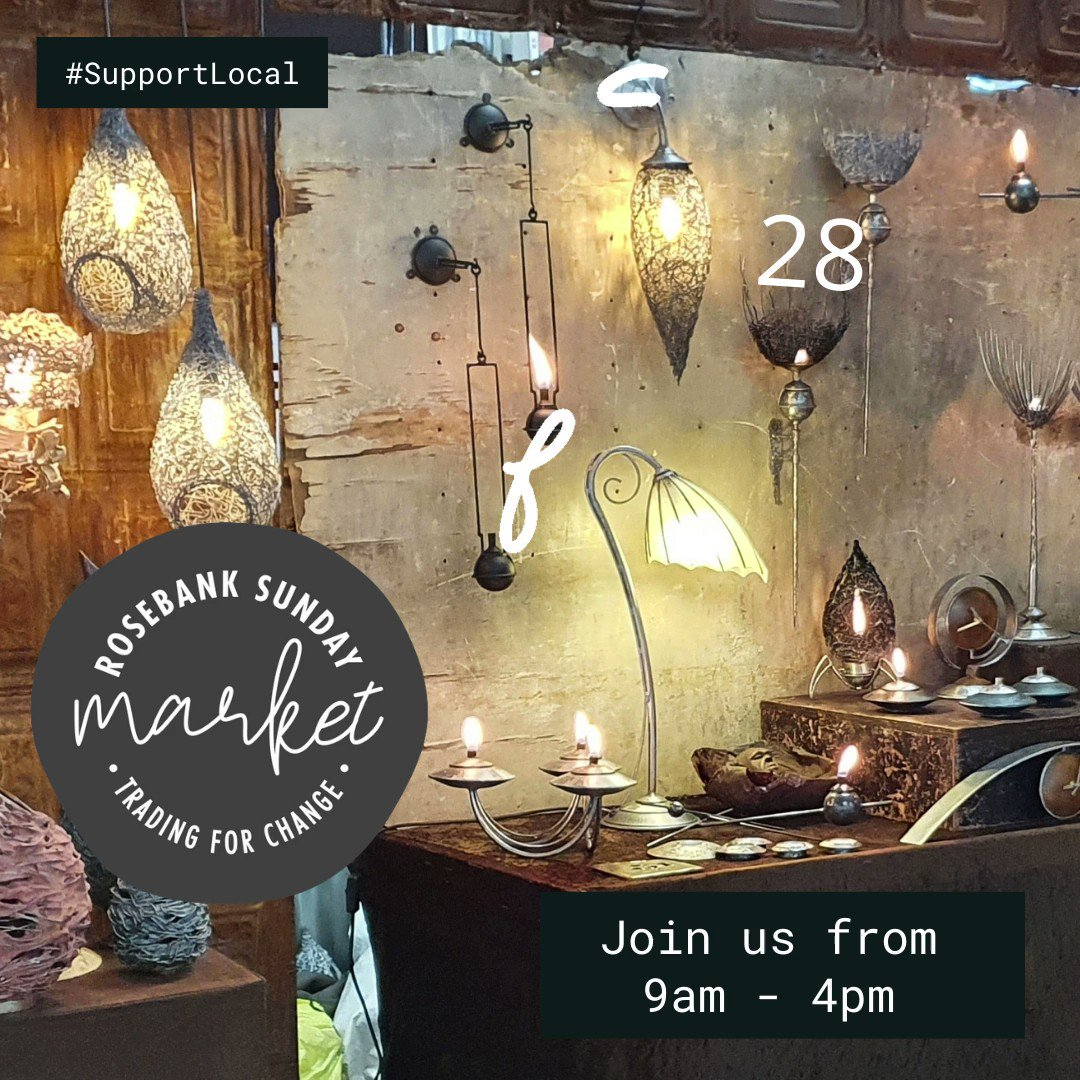 Wondering where to go on #Sunday?  JOIN US  @MarketRosebank  for a bit of shopping, enjoy some #brunch, #lunch, afternoon #coffee or maybe a #beverage from our bar.  Our #CarBootSale is also taking place this weekend. Find us  @RosebankMall  undercover parking level 4  #BuyLocal
