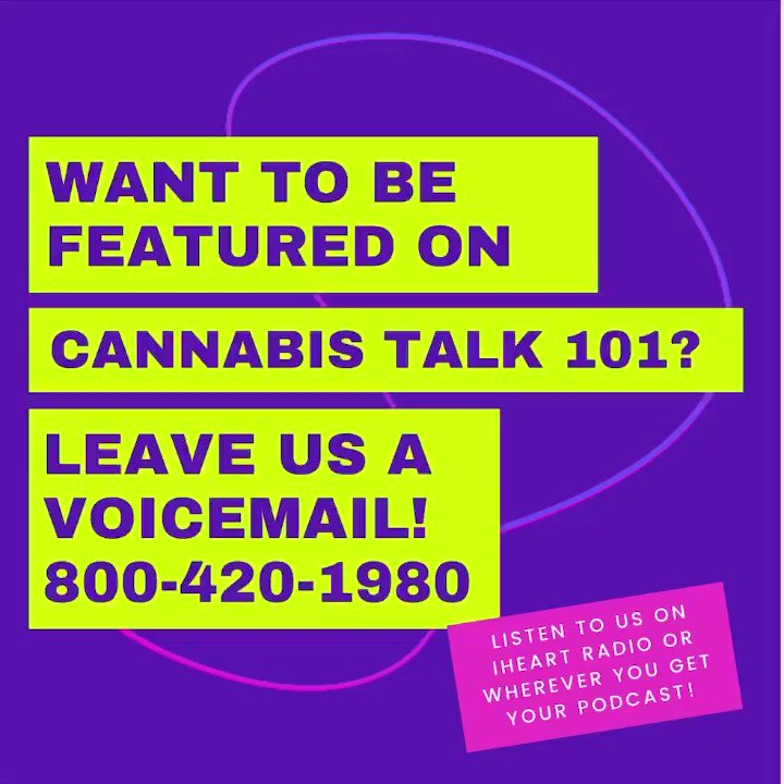 Do you have something to say that the world needs to hear? Make us your platform. Join our show! Call 800-420-1980 NOW.  #CannabisTalk101 #PotBrothersAtLaw #Blue #ChristopherWright #JoeGrande #BreakingNews #Cannabis #MarcWasserman #CraigWasserman #WhosMakingWaves #CannabisNews