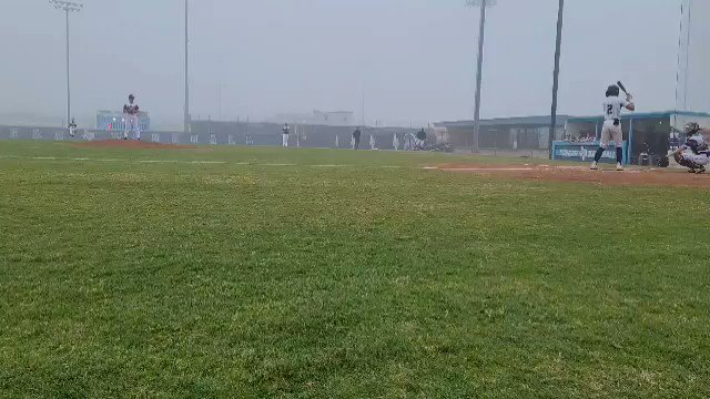 had a great weekend at the plate going 5-10 with 2 doubles and no strike outs. also topped out at 91 on the mound