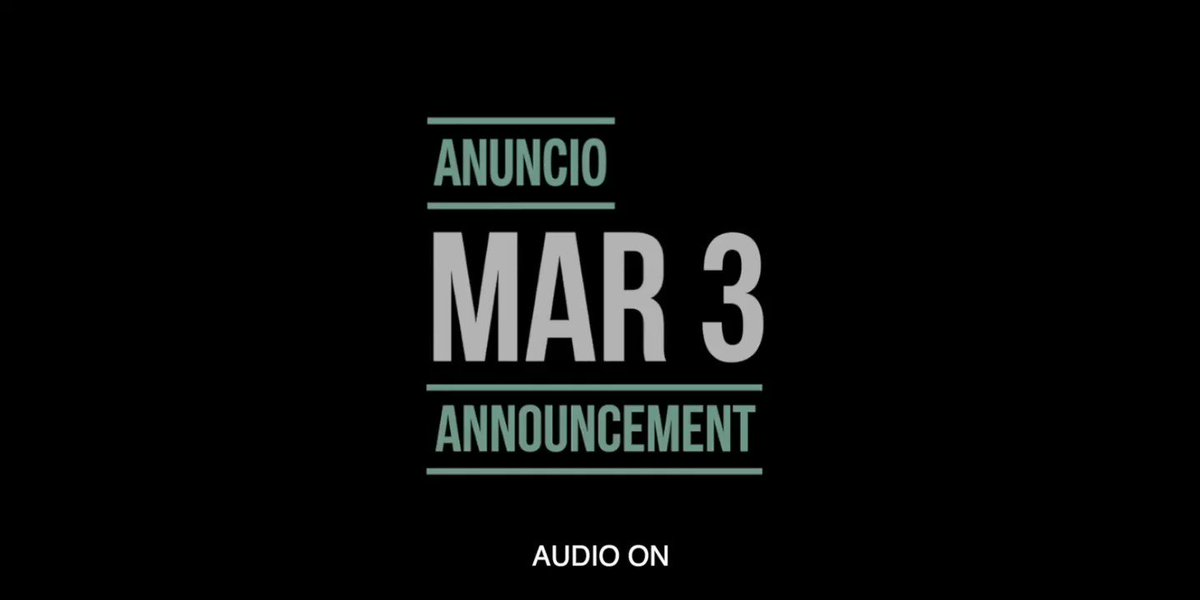 #MarcAnthonyUnaNoche   Stay tuned!
