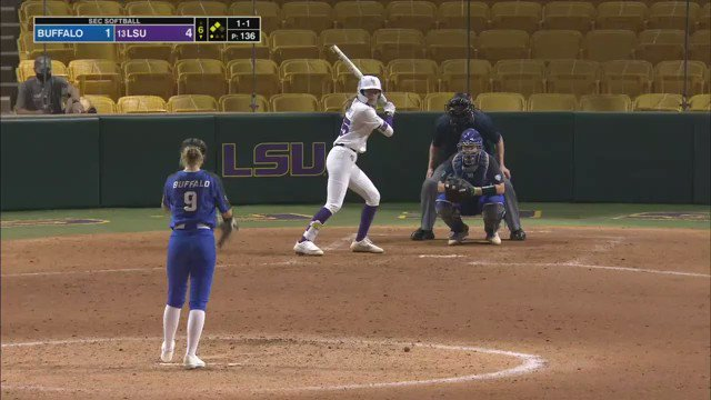 The Tigers tack on 4 runs in the 6th to take a 7-1 lead! 📺: @SECNetwork #MakeItCount