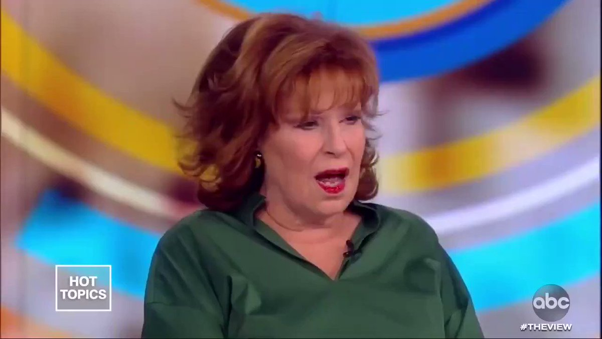 The fact that Joy Behar has never hosted an episode of #SNL... especially during the Trump era... #SNL #theview