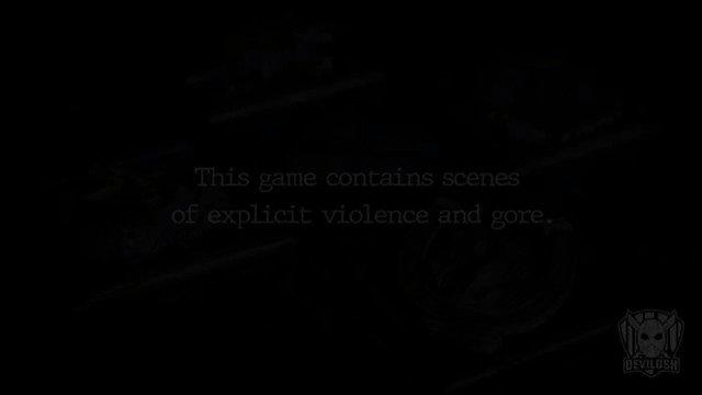 المبدع كعادته @Devilosh  شاشة التحذير في البداية على نمط الأجزاء السابقة. #ResidentEvilVillage #REBHFun