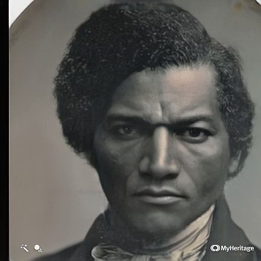 Frederick Douglass, the mighty abolitionist, was the single most photographed person in the United States during the nineteenth century. Heres how he mightve looked in motion. Brace yourself and press play.
