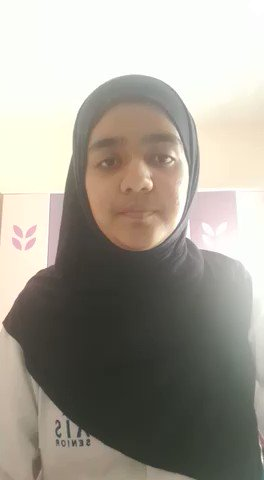 Our #AISGrade11 student, Rumaysa Khan shared her video for the International Mother Language Day. #AISSrSecondary #internationalmotherlanguageday