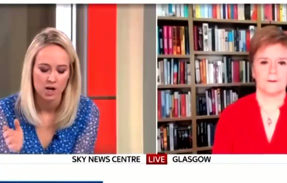 In retrospect. @SophyRidgeSky gets outflanked by @NicolaSturgeon on when she first knew.  R asks about evidence that she knew BEFORE the meeting in her home but S switches to the EDI airport allegations, talking over the Aberdein meeting.  @afneil wouldn't have been manipulated.