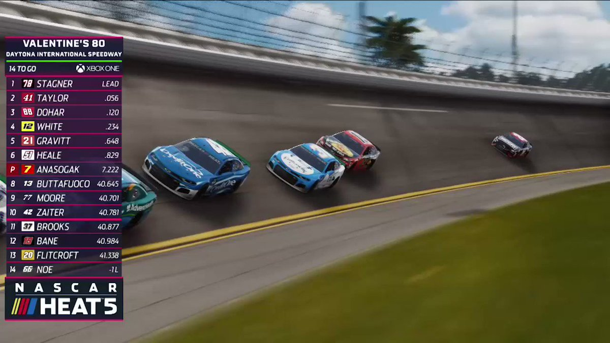 In this @NASCARHeat 5 Winter HEAT Series preview, we see how critical coordination is to properly execute green flag pit stops!  NASCAR Heat 5 Winter HEAT Series on #MAVTV #MotorsportsNetwork 🗓    TONIGHT February 28th  ⏰   9:30pm ET 📍    @DAYTONA   #NASCARHeat5 #WinterHEAT