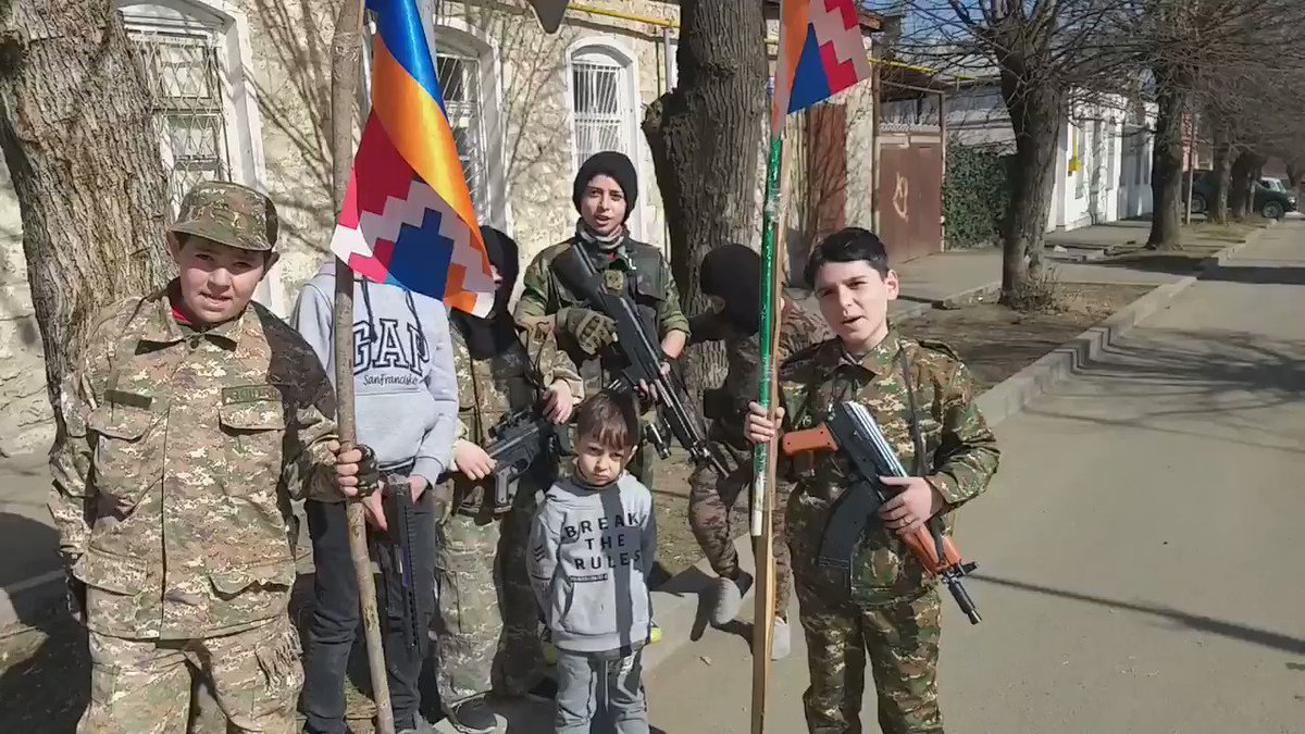 The war is over but using kids for ugly nationalistic brainwashing is not. Can we let kids on both sides BE KIDS? #StopTheHate