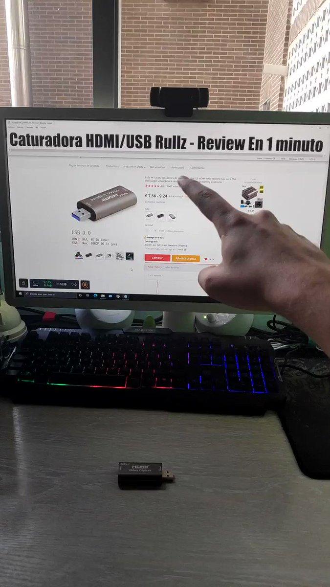 Image for the Tweet beginning: Capturadora HDMI a USB 3.0