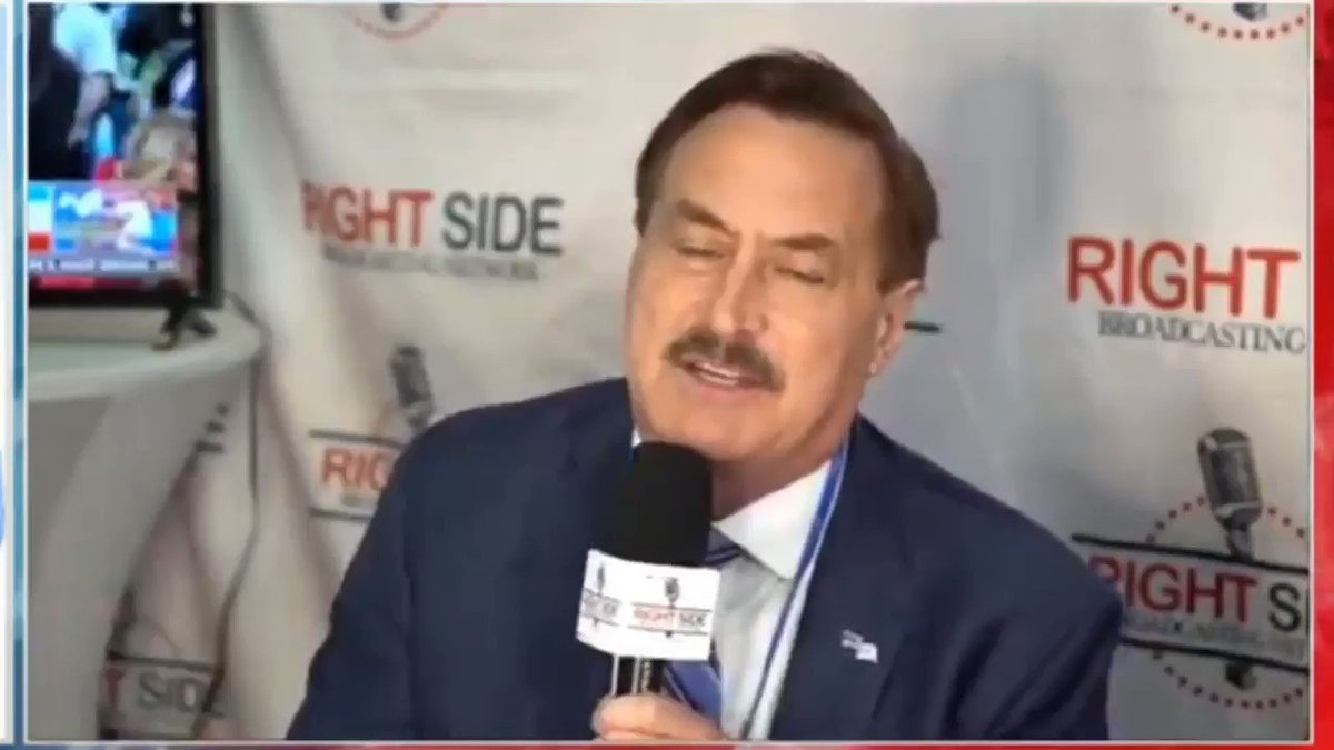 Mike Lindell likens COVID-19 vaccines to the mark of the beast and Revelations.