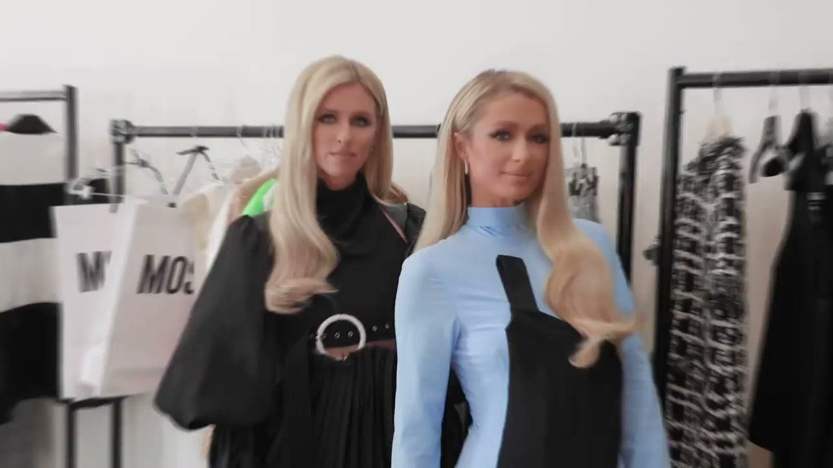 So much fun on my @LOfficielItalia cover shoot with @NickyHilton. ✨👯♀️✨ Click link in bio to watch the full BTS shoot of our cover shoot. What's your favorite look? 😍