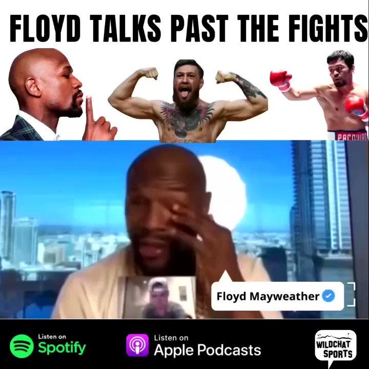 "Did Mcgregor steal Floyd's ""Blueprint""🤔‼️ #floydmayweather #tmt #floyd #conormcgregor #fight #money #wildchatsports #wildchats #chains"