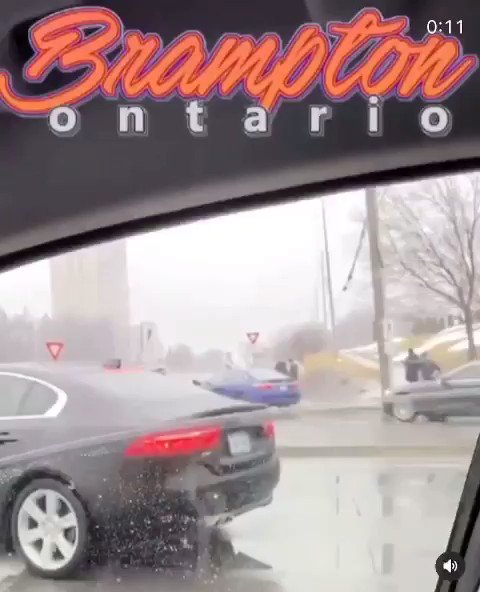 UPDATE | Multiple reports of Pro-Modi car rally causing major delays in Brampton as rally participants get into multiple accidents with one another. Police on scene.