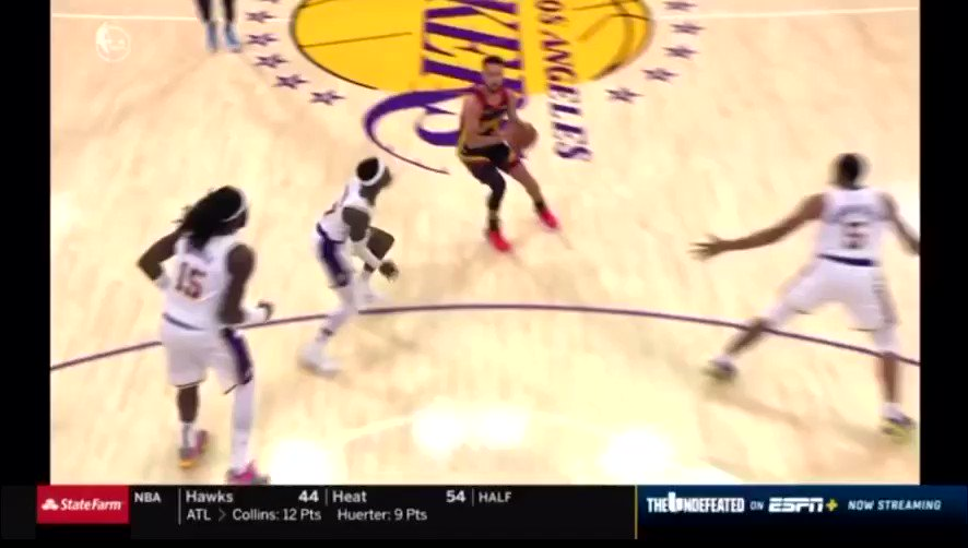 Don't get me wrong, this is a foul... just not on Schroeder https://t.co/UHumnzsKR5