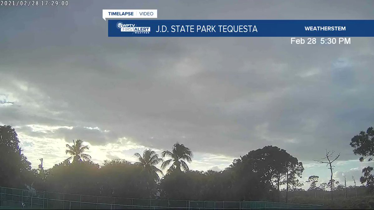 Tequesta #sunset tonight! #sunday #florida #timelapse #flwx