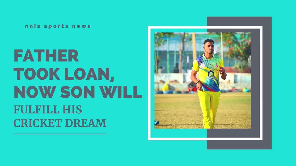 Father Took Loan, Now Son Will Fulfill His Cricket Dream @KKRiders @IPL @DineshKarthik @iamsr #IPLAuction #IPL2021Auction #IPLAuction #IPL2021 #Cricket #KKR