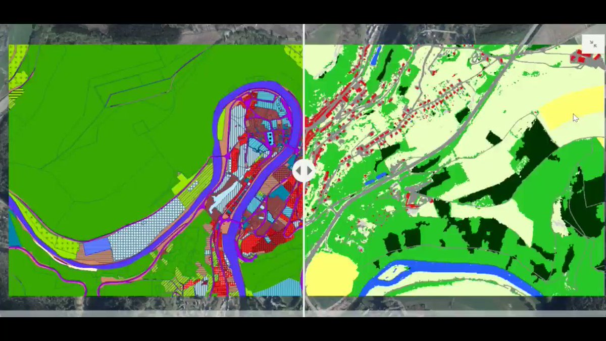 The Service public de Wallonie is in charge of implementing the policy of the Walloon region in Belgium. Discover here how they integrate satellite data for mapping the land use and land cover: eurisy.eu/stories/the-pu… #mapping #satelliteimagery #wallonie #environment