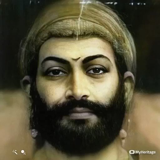 Chatrapati Shivaji Maharaj, the great king of Maratha Empire! run it through the Heritage AI algorithm, and see him reanimated. @MarathiRT @bbcnewsmarathi #chatrapatishivajimaharaj #ShivajiMaharaj