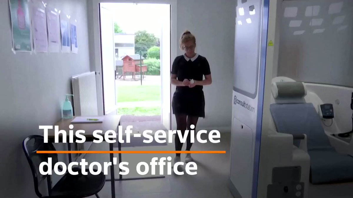 This self-service doctor's office involves no human contact by @pradeeprao_  #Digital #5G #Banking #Innovation  Cc: @heinzvhoenen @johnlegere @ronald_vanloon @haroldsinnott @mikequindazzi https://t.co/NUA7wDQIaO