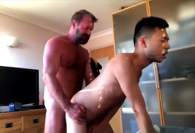 Daddy pumps seed DEEP inside his boy https://t.co/z94tnLNyb8