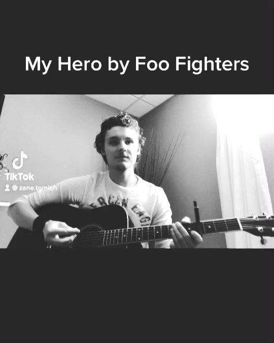 My Hero by Foo Fighters. #music #musician #song #songcover https://t.co/qOcP1u8Qje