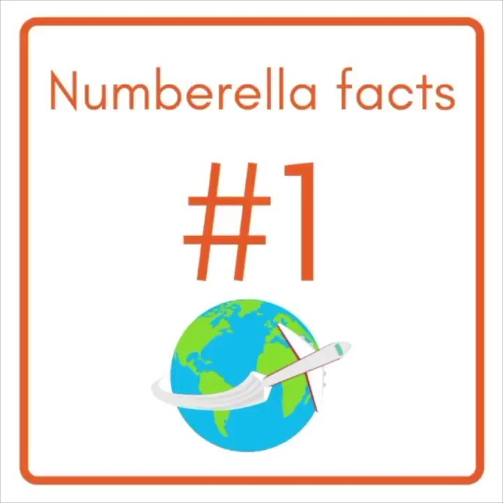 Know your Numberella facts!   👍  #blendedlearning #edutwitter #facts #gamification #gifted #growth #homeschooling2021 #mondaymotivation #mondaythoughts #mondaymorning #STEM #teaching @SheliBB   >>>