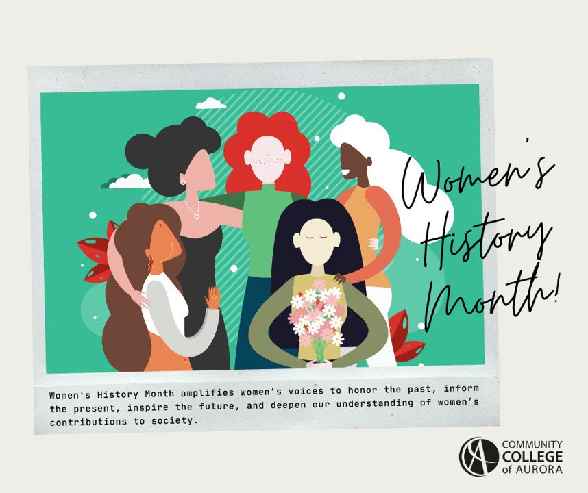 """Congress officially deemed March #WomensHistoryMonth in 1987. This year the National Women's History Alliance is extending 2020's women's suffrage theme to 2021: """"Valiant Women of the Vote: Refusing to Be Silenced"""". Learn more here:"""