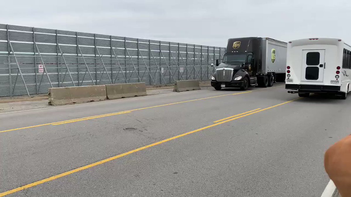 BREAKING: The first @UPS truck carrying the Johnson & Johnson vaccine just arrived at the Worldport hub in Louisville. More trucks carrying the vaccine will arrive throughout the day. Deliveries start TOMORROW.