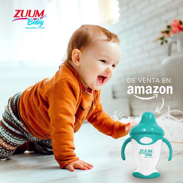 ¡Encuentra la Taza y Vaso Entrenador de #ZUUMBaby en Amazon! ✨ Da click:  y ordena el tuyo.   #ZUUMBaby #Zuum #USCottonMéxico #Baby #Bebé #VasoEntrenador #Amazon