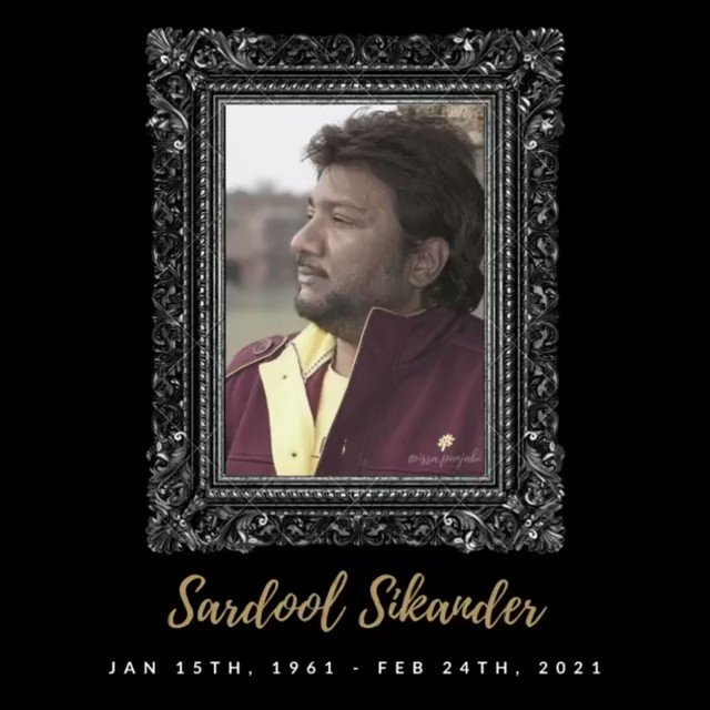 Remembering the great #SardoolSikander #PanjabiMusic #Folk #India #Legendary #Desi #Urbandesi #desitrill