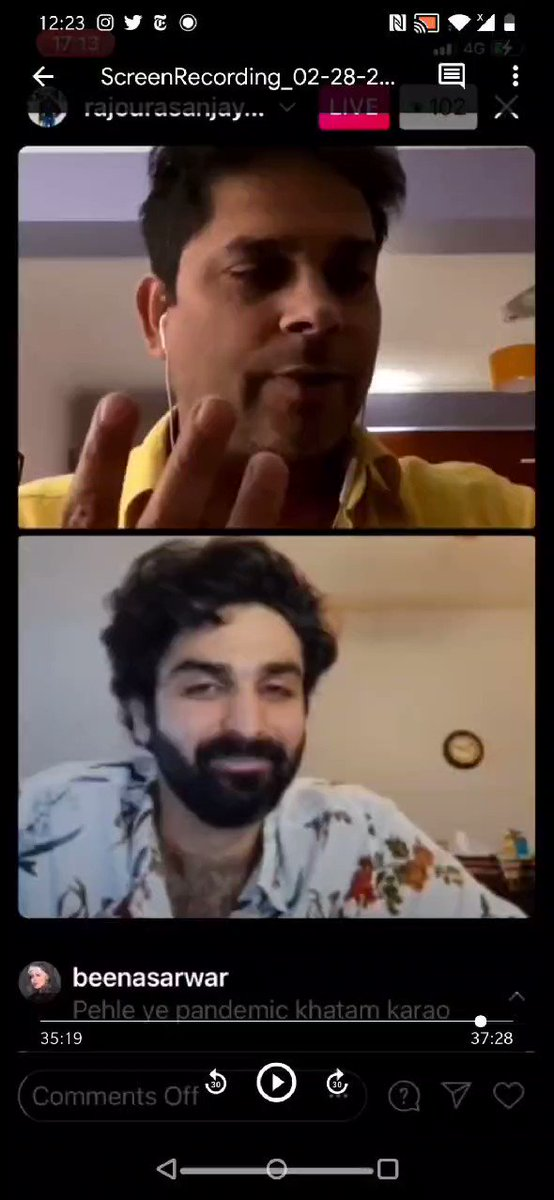 I had a blast talking to my friend, ustaad and hype energy Sanjay Rajoura on 🇮🇳, 🇵🇰 and everything in between. Here's a little highlight of our masalay-daar convo!!  @beenasarwar @amankiasha_1 #india #pakistan #sanjayrajoura #satire #satirist
