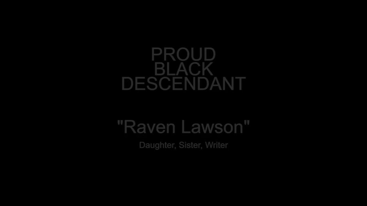 Raven Lawson is our second #proudblackdescendant! In her video she highlights the strength of those you came before her. Thank you Raven for sharing with us! #proudblackdescendant    #blacklove #strongblackwomen #blackandproud #neverforget #enslavednarratives #blacklivesmatter