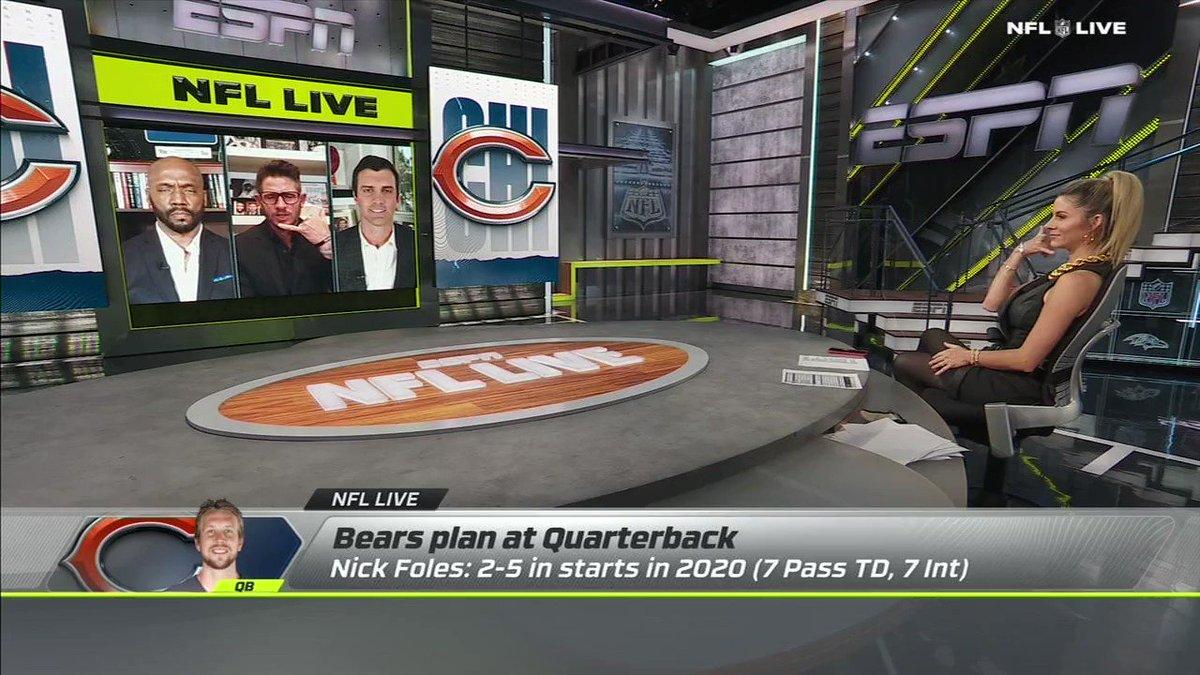 Replying to @danorlovsky7: The @ChicagoBears NEED TO GO ALL IN like Matt Damon vs Malkovich...  #nutstraight  @ESPNNFL