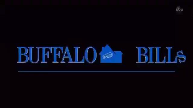One of the best Monday Night Football graphics of the 2020 season.   🎥 via. @espn   #MNF #ESPN #BuffaloBills #ChampionshipCaliber #HomeAlone #Billsmafia